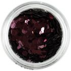 Hexagoane maro-roz - 3mm