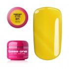 Gel UV Base One Color - Royal Yellow 01, 5g