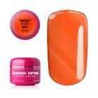 Gel UV Base One Color - Queen Orange 07, 5g