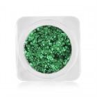 Decorațiuni nail art – cercuri în culori metalice - verde, nr. 4