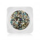Decorațiuni nail art - cercuri în culori metalizate - mix culori, nr. 12