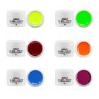 Set geluri colorate neon – 6 buc.