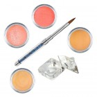 Set Orange - set de pudre acrilice colorate