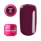 Gel Base One Color RED - Cranberry 02, 5g