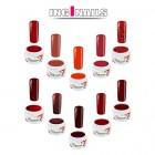10 bucăți Gel UV colorat - Roșu
