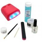 Set Basic gel UV - sistem monofazic cu lampă 36W