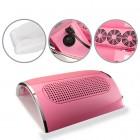 Colector de praf pentru unghii, culoare roz