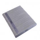 50buc – Pilă de unghii, placă gri cu centru negru. Lavabil și dezinfectant 80/80