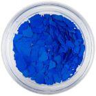 Fulgi de confetti cu o formă nedefinită - albastru