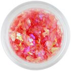 Sclipici pentru unghii roz somon