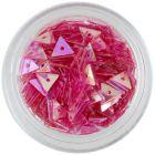Triunghiuri pentru unghii, roz cu aspect învechit
