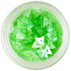 Triunghiuri pentru unghii, verde deschis