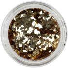 Decoraţiune pentru tipsuri acvariu - diamant auriu