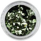 Confetti diamant pentru nail art - verde măslină