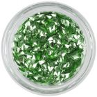 Decoraţiune nail art verde deschis - ştras 3D