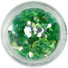 Hexagon verde deschis - elemente aqua