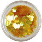 Hexagoane decorative - elemente aqua, culoarea mierii