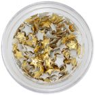 Stele din material - decoraţiuni aurii
